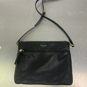 Medium Polly Leather Crossbody bag KATE SPADE